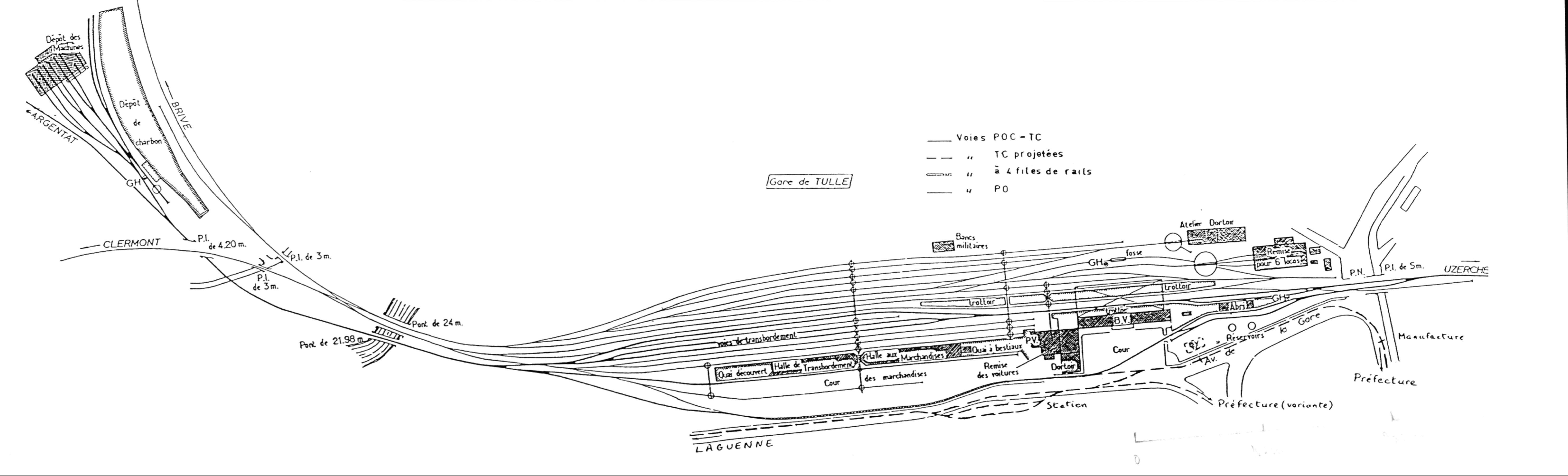des grands et des petits trains plan de masse et plan de voies. Black Bedroom Furniture Sets. Home Design Ideas